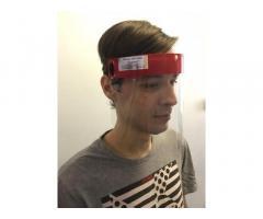 Маска щитовая, защитный экран для лица, маска-щит, маска-экран