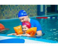 Бесплатное занятие в детской школе плавания «Океаника» на Профсоюзной.