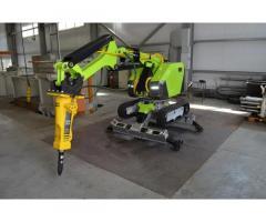 Предлагаю в аренду электрогидравлического демонтажного робота на гусеничном ходу.